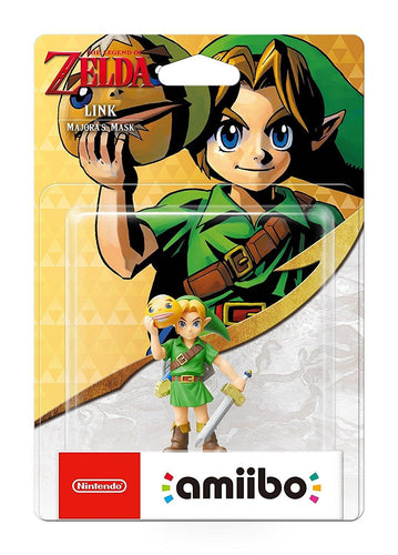Majoras Mask Link Amiibo - TLOZ Collection (Nintendo Switch/3DS/Wii U