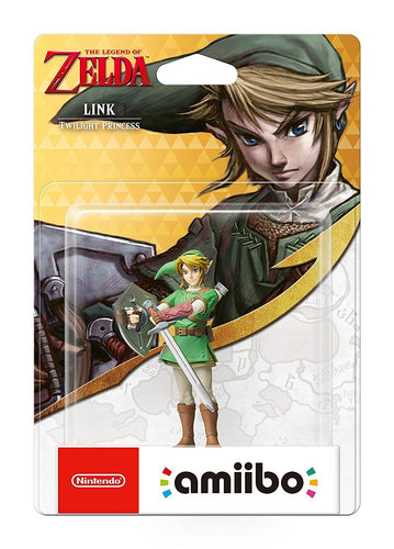 Twilight Princess Link Amiibo - TLOZ  Nintendo Switch/3DS/Wii U