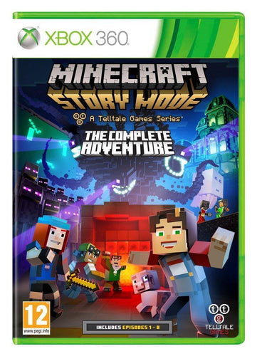 Minecraft Storymode The Complete Adventure Xbox 360