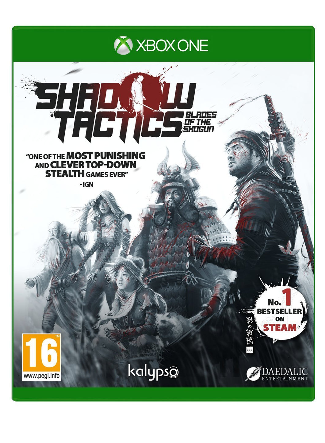 Shadow Tactics Blades of the Shogun Xbox One
