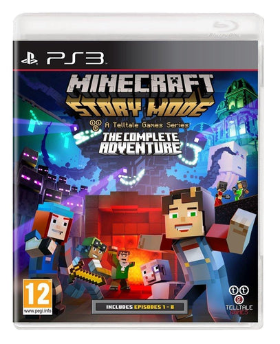 Minecraft Storymode The Complete Adventure PS3