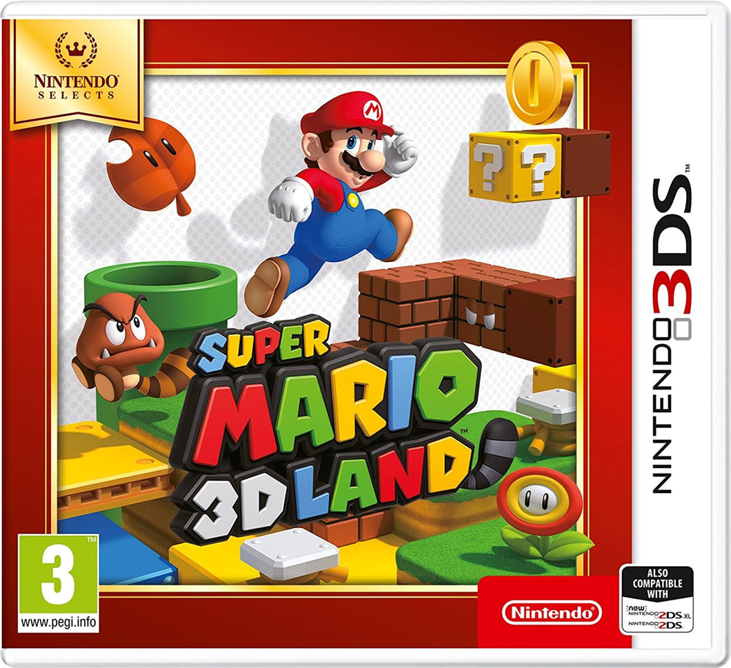 Nintendo Selects Super Mario 3D Land Nintendo 3DS