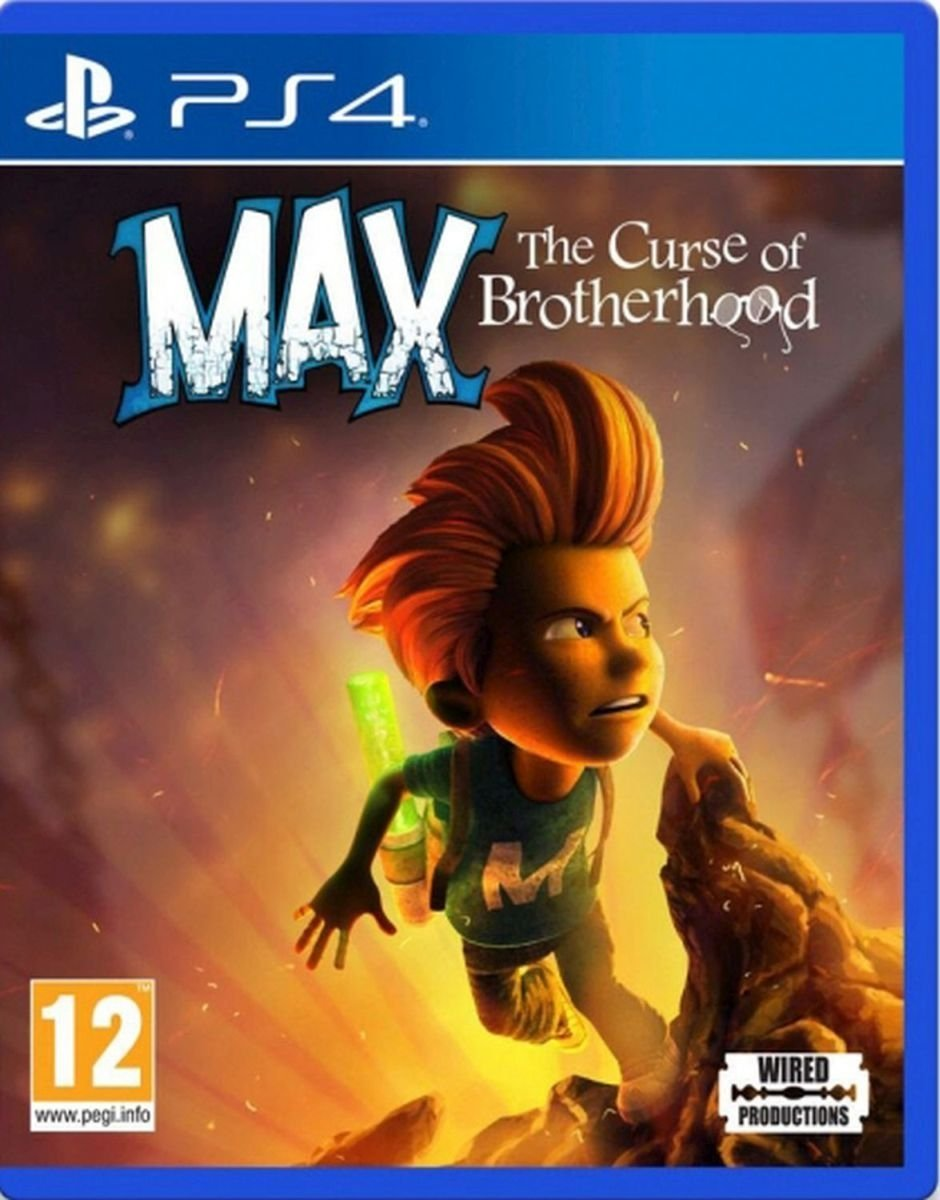 Max The Curse of Brotherhood PS4