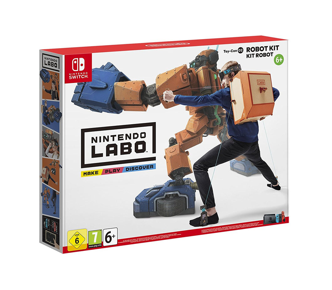 Nintendo Labo Robot Kit Toy Con 02 Nintendo Switch