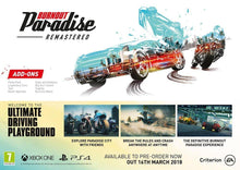 Burnout Paradise Remastered Xbox One