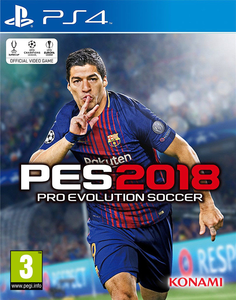 PES 2018 PS4 Pro Evolution Soccer 2018 PS4