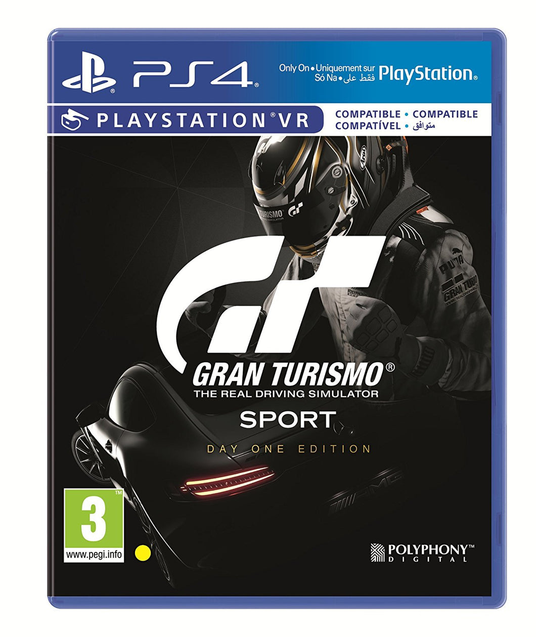 Gran Turismo Sport Day One Edition - PSVR Compatible PS4