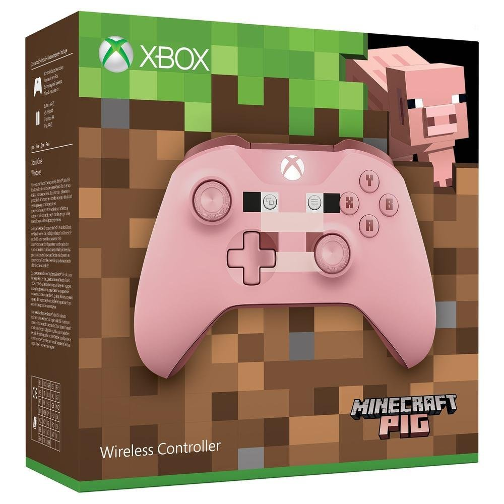 Official Xbox Wireless Controller  Minecraft Pig