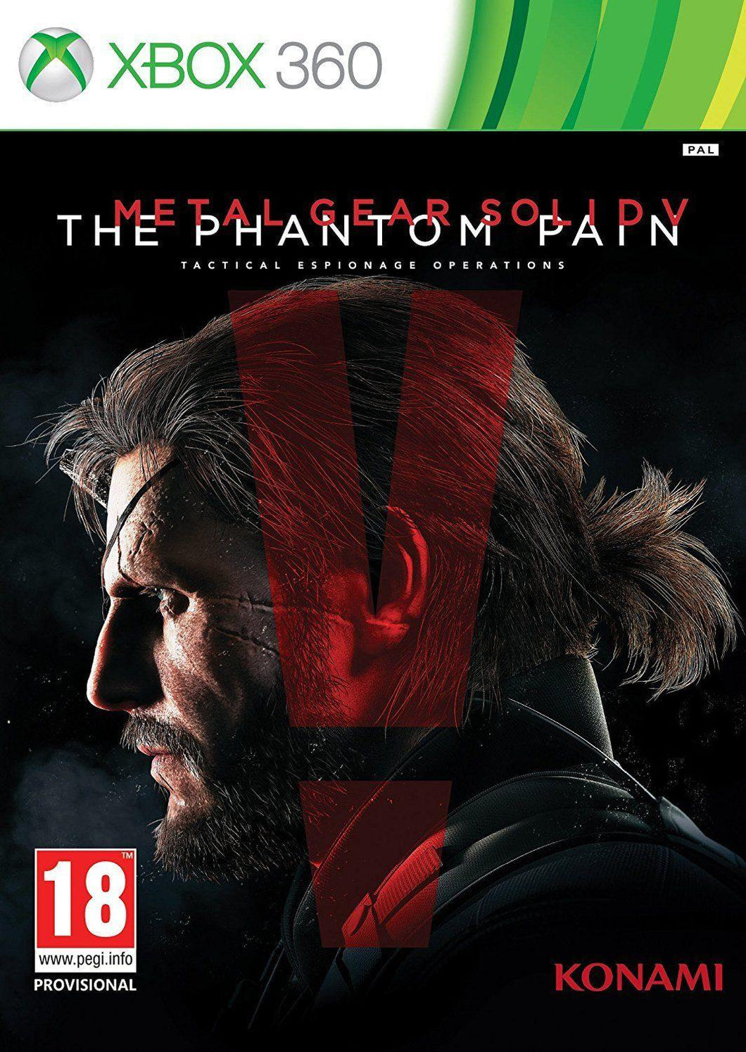 Metal Gear Solid V The Phantom Pain Day One Steelbook Edition Xbox 360