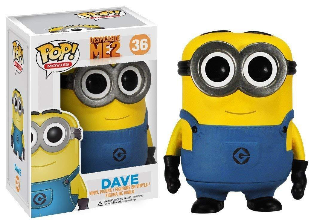 FUNKO POP! MOVIES: Despicable Me 2 - Dave