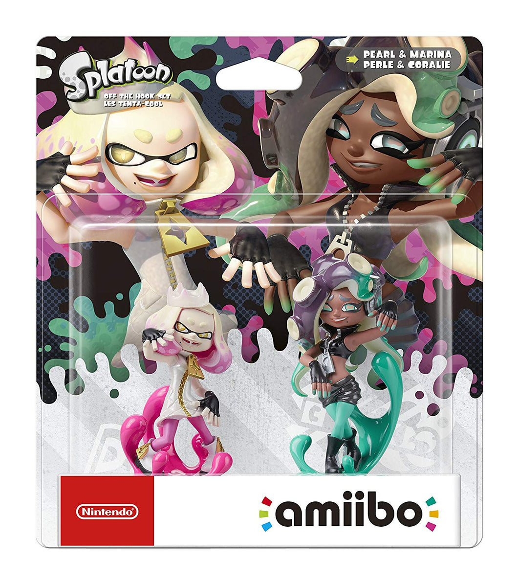 Off the Hook Set amiibo  Pearl and Marina - Splatoon Collection Nintendo Switch/Nintendo Wii U/Nintendo 3DS