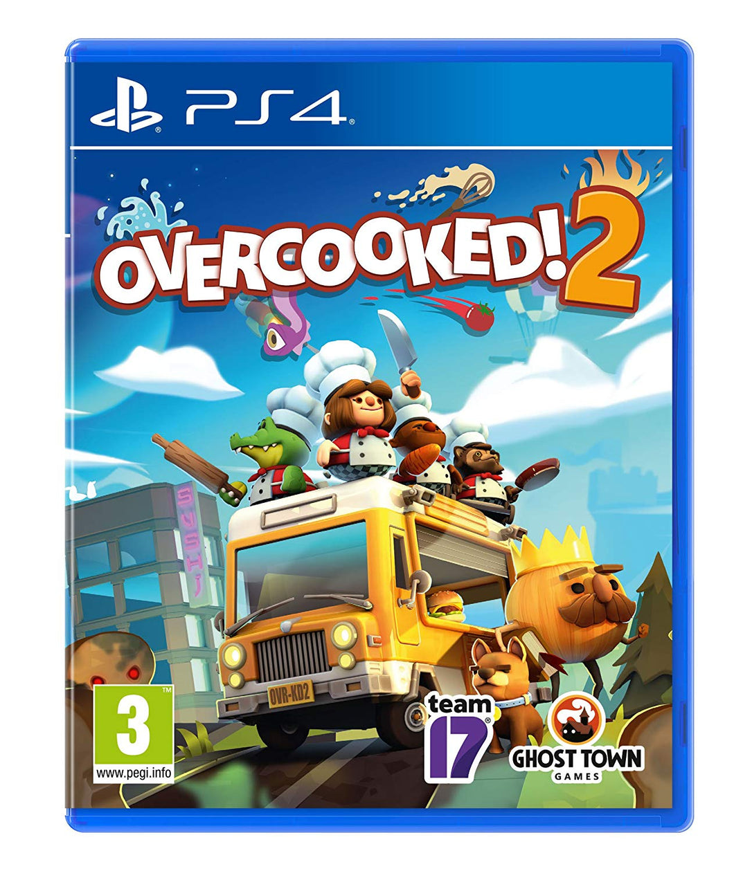 Overcooked! 2 PS4