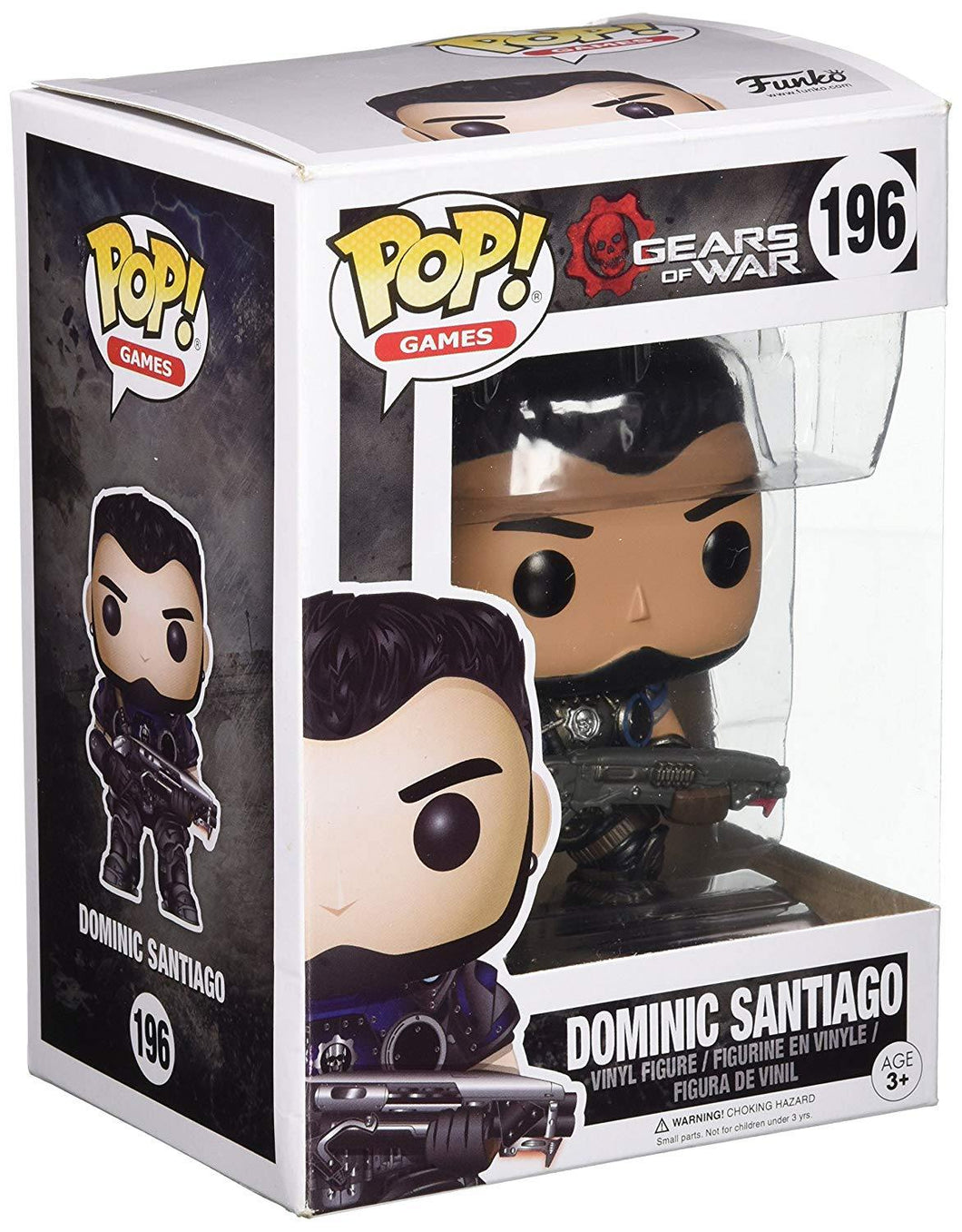 Funko-Pop! Games Gears Of War-Dominic Santiago
