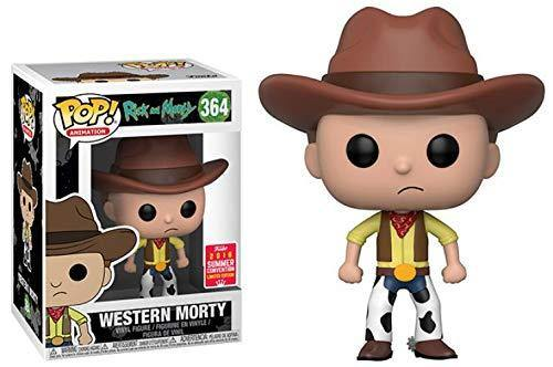 Funko Pop Rick and Morty Western Morty Summer Convention Exclusive