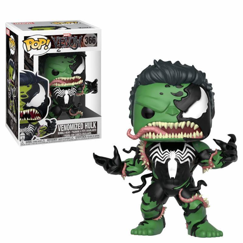 Funko Pop 366 Marvel Venom Venomized Hulk
