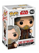 Luke Skywalker: Star Wars The Last Jedi - Funko POP! Vinyl Bobble-Head #193