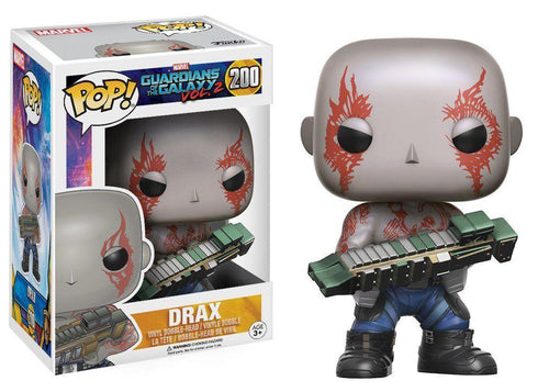 Funko Pop! Movies:Guardians of the Galaxy 2 - #200 Drax Collectable Vinyl Bobble