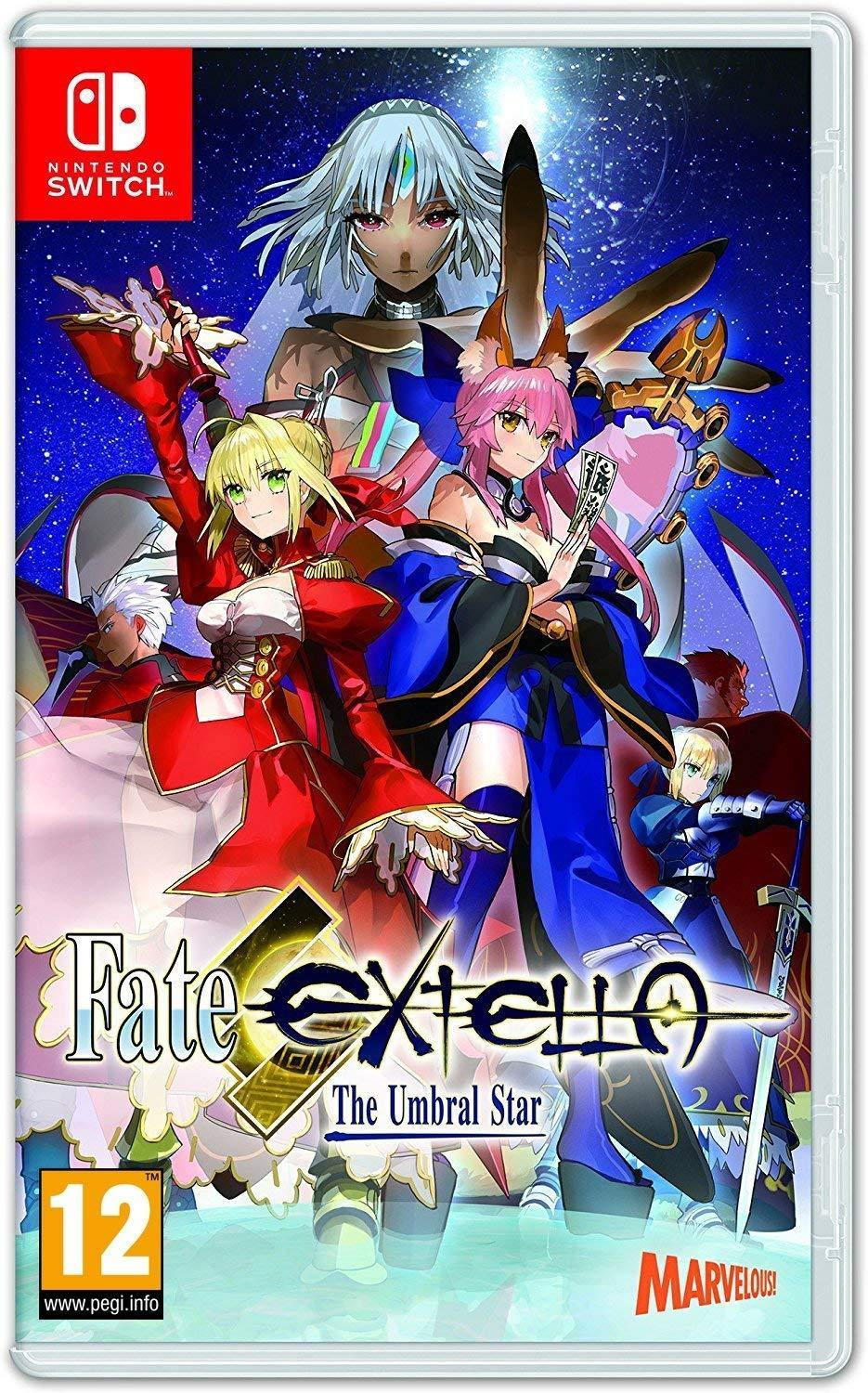Fate/EXTELLA The Umbral Star Nintendo Switch
