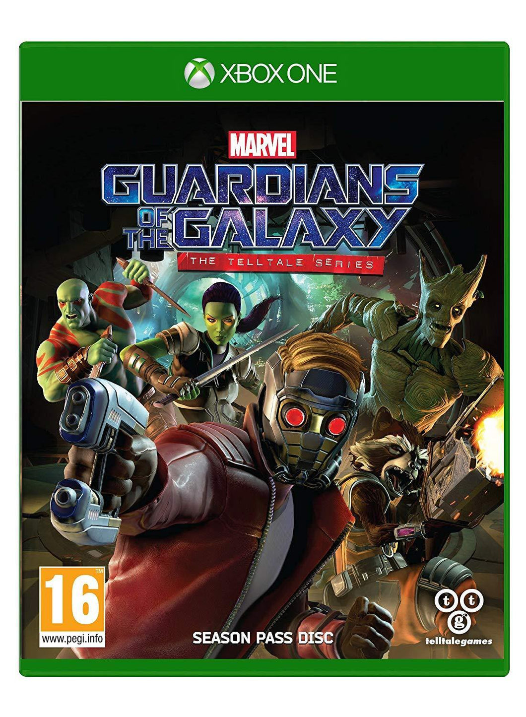 Guardians of the Galaxy The Telltale Series Xbox One