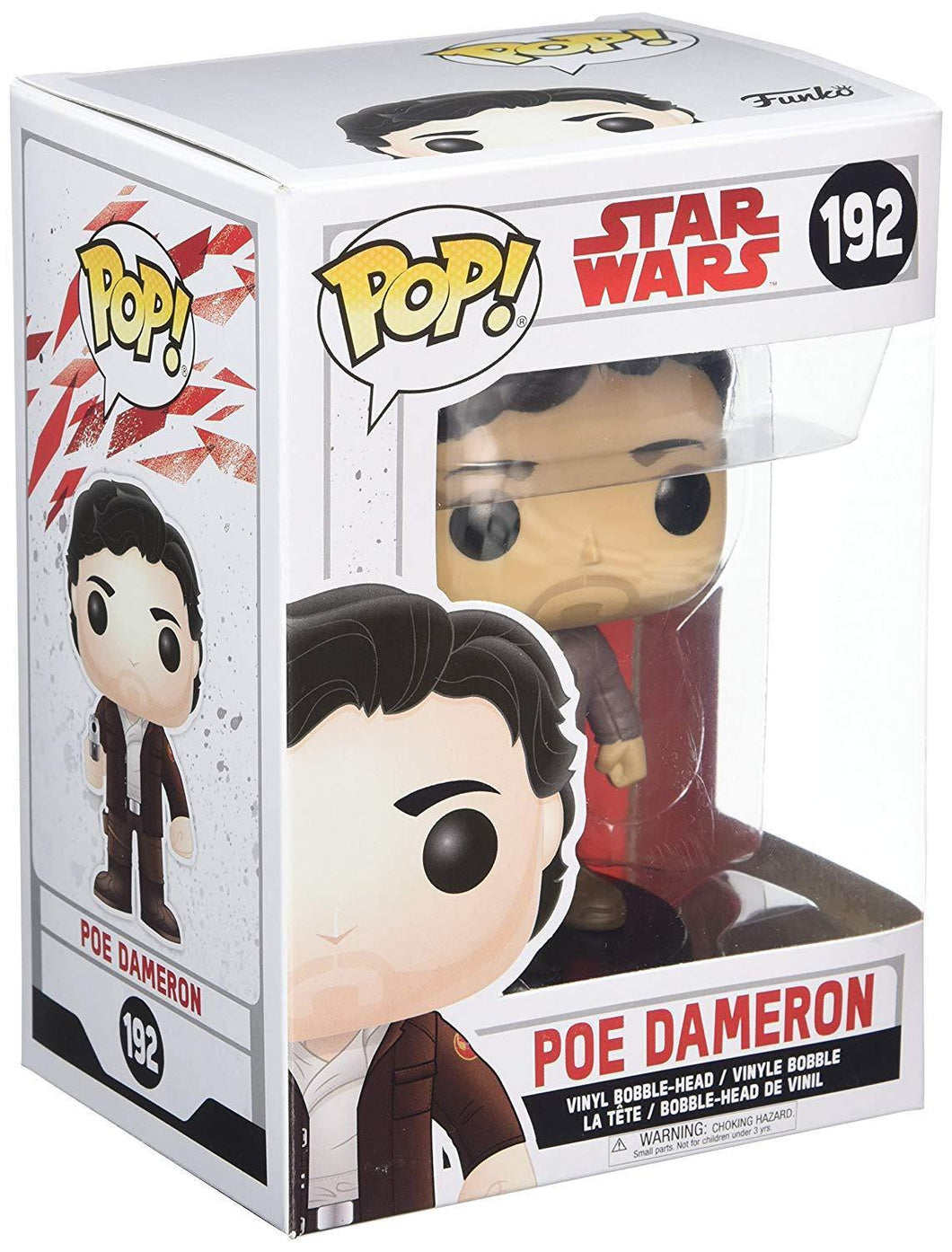 POP! Bobble Star Wars: E8 TLJ Poe Dameron