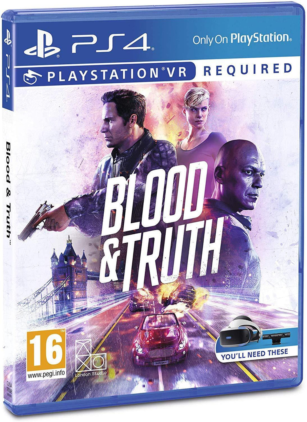 Blood & Truth PS VR PS4