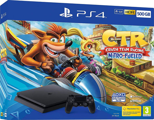 Crash Team Racing Nitro-Fueled 500GB PS4 Bundle (PS4)