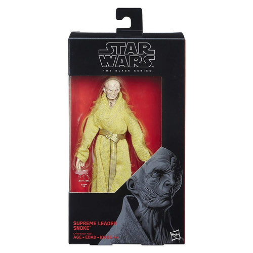 STAR WARS The Black Series Supreme Leader Snoke Figure