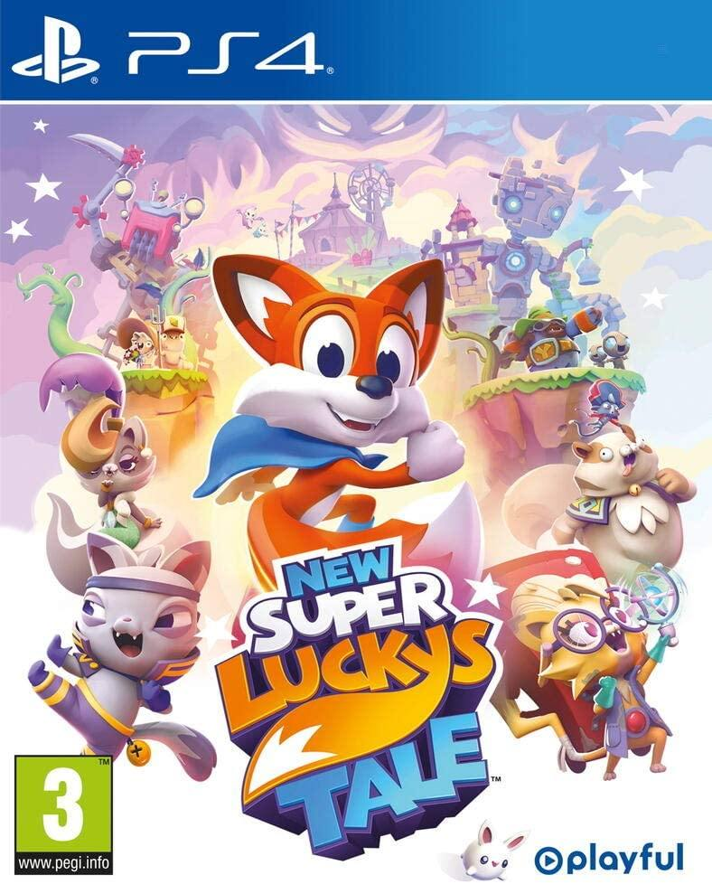 New Super Lucky's Tale PS4