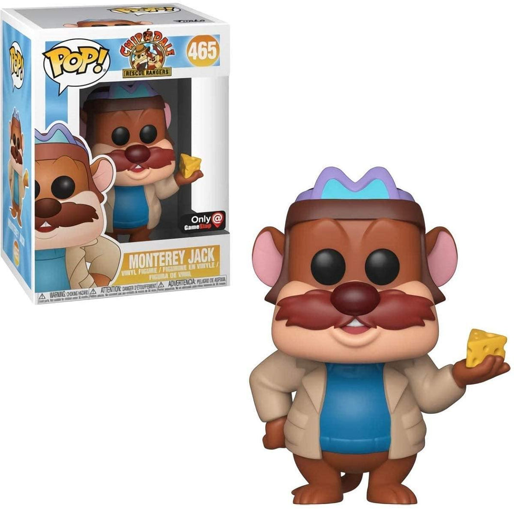 Funko Pop! 465 Disney Monterey Jack Chip 'N' Dale Brand New Boxed