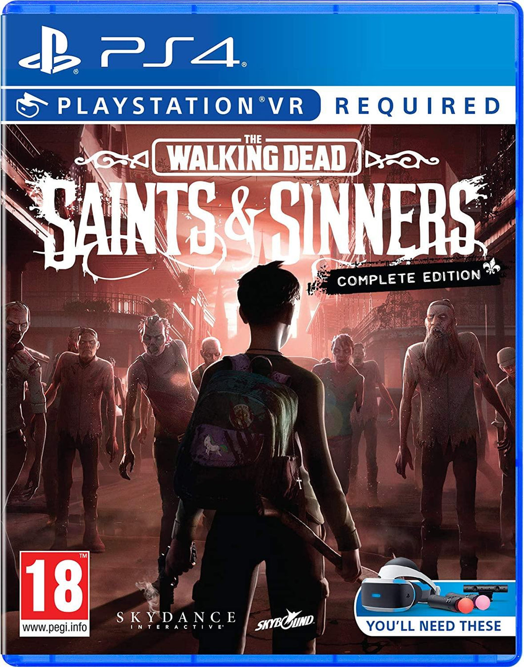 The Walking Dead Saints & Sinners The Complete Edition PS
