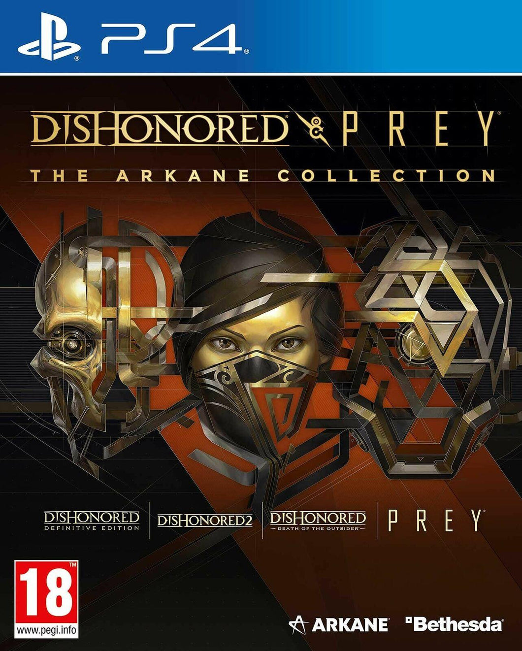 Dishonored & Prey The Arkane Collection (PS4)