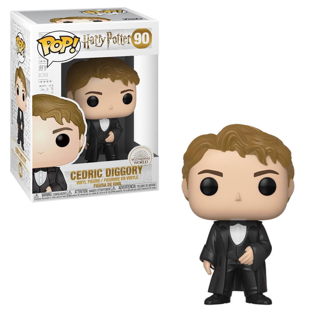 Harry Potter Cedric Diggory Yule Pop! Vinyl 90#