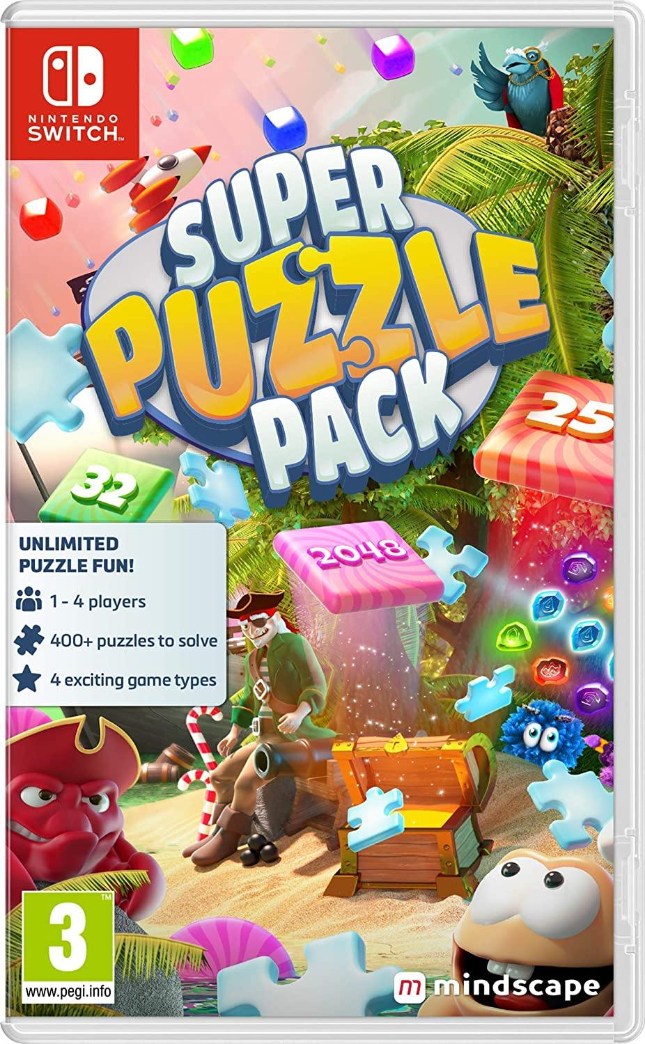 Super Puzzle Pack + 500 Puzzles (Nintendo Switch)