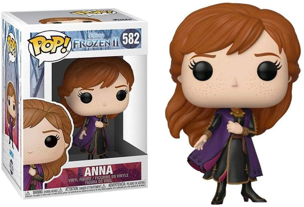 Funko Pop Movies: Frozen II Anna Vinyl Figure - Onestopgaming