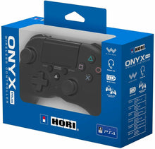PS4 Wireless Controller Hori Onyx Plus Sony Officially Licensed - Black