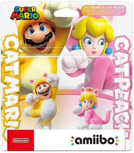 amiibo Cat Mario and Cat Peach (Nintendo Switch)