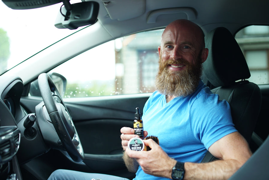 Beard Care in the Car!