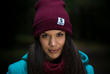 Burgundy Red Beanie