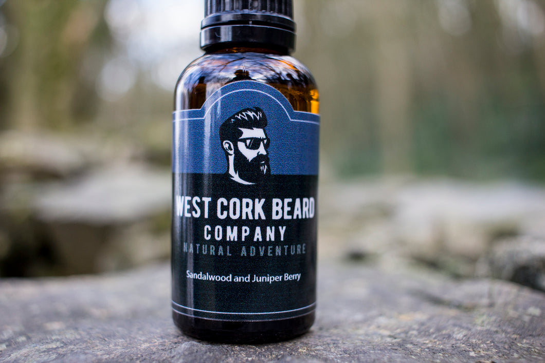 Sandalwood and Juniper Berry Beard Oil (30ml)