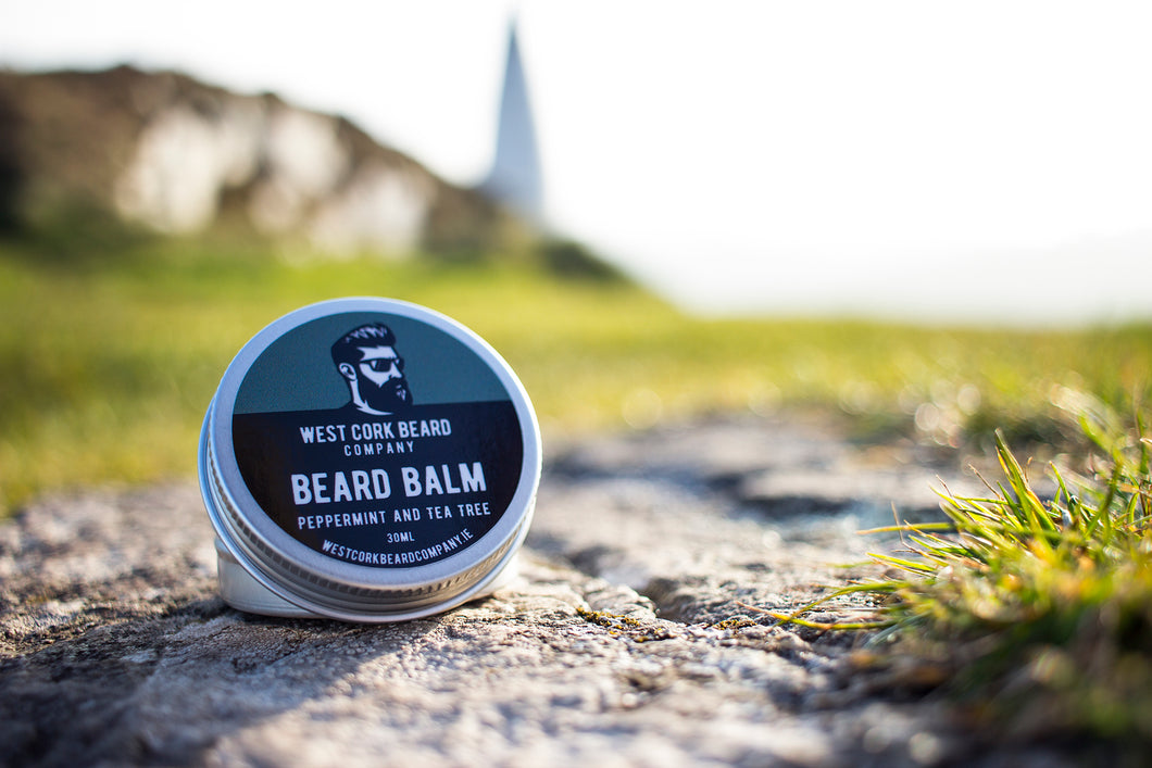 Peppermint and Tea Tree Beard Balm (30ml)