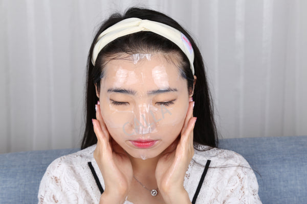 Hydrogel Korean Facial Essence Full Face Mask Sheet Collagen
