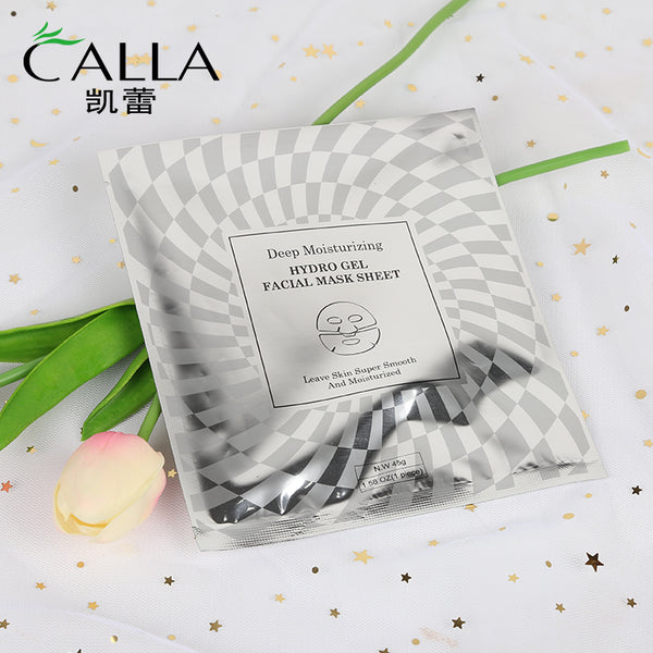 Moisturizing Facial Make Hydrating Face Hyaluronic Acid Whitening Gel Mask Sheet
