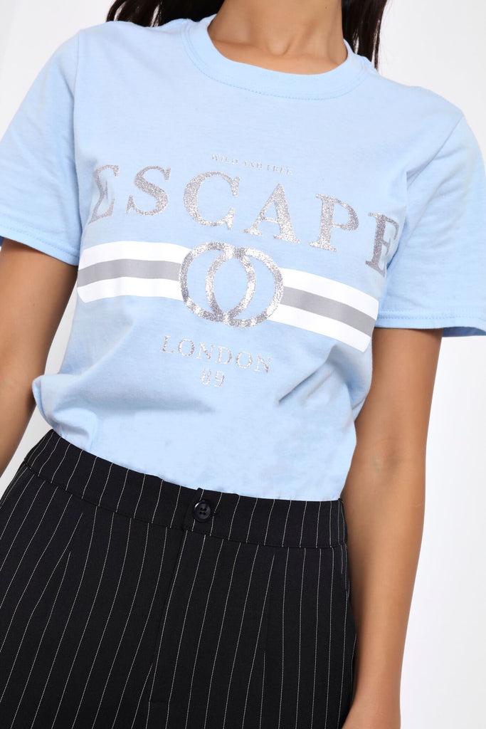 Baby Blue Escape T-Shirt