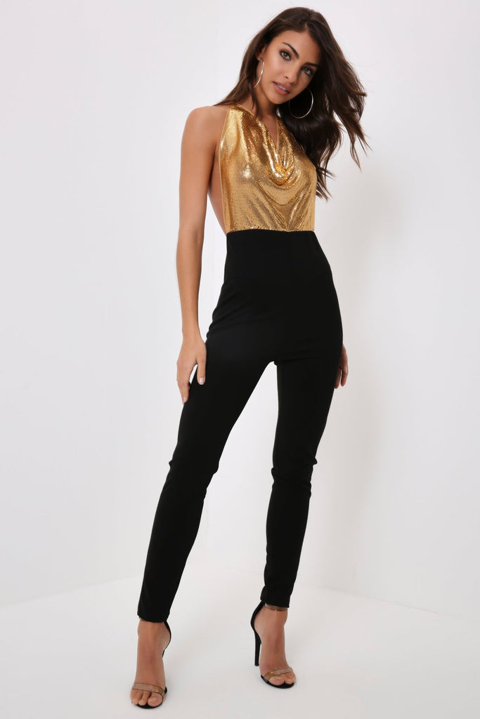 Gold Chainmail Jumpsuit