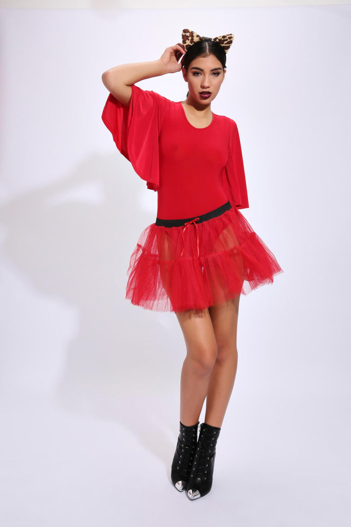 Red 2 Layer Tutu