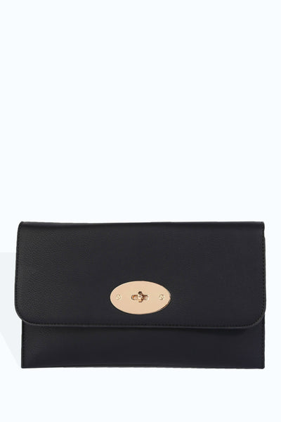 S17W-2200003153-BCK-OS-fold-over-cold-clasp-clutch-black-jl1304