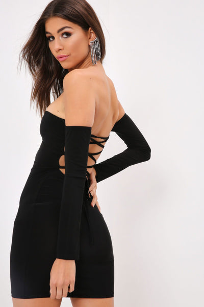 Black One Shoulder Keyhole Dress - 10 / BLACK I Saw It First Clearance Sale Cheap Real Real Online eoQNFPpWfB