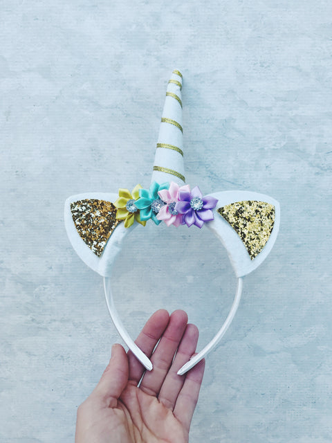 UNICORN HEADDRESS HAIRBAND