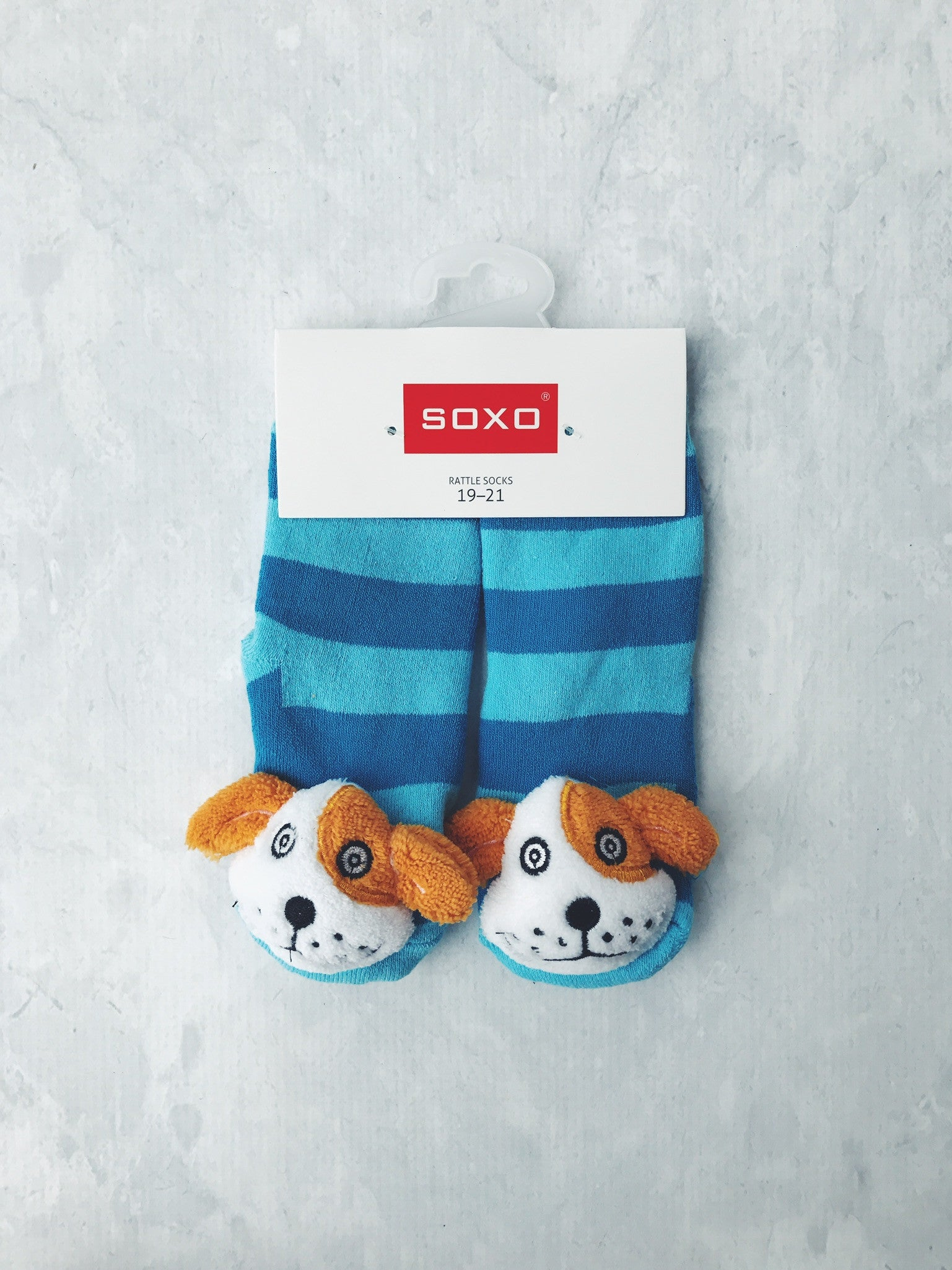 Rattle Socks Soxo Large Puppy Non Slip Mama Fashion Me