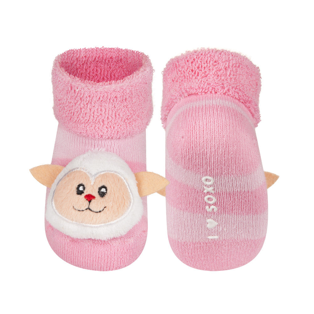 Rattle Socks Soxo Small Lamb Mama Fashion Me